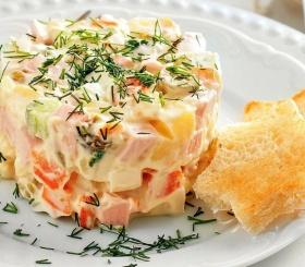 5 супер рецептов салата «Оливье»